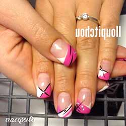 Model Ongle Gel Deco Deco