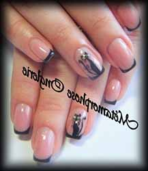 Modele Ongles French Couleur