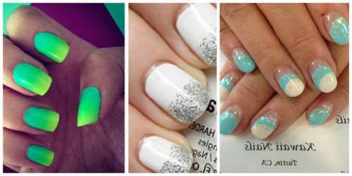 deco ongles en gel ete
