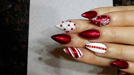Ongle Deco De Noel 28 Images D 233 Co Ongles No 235 L Et Nouvel An 49 Inspirations Exquises