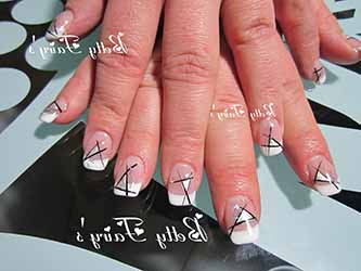 Ongle french original deco - Modele french manucure original ...